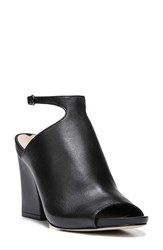 Women's Via Spiga 'Prim' Ankle Strap Sandal Black Leather