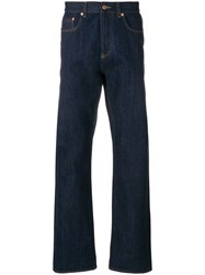 Natural Selection Workwear High Rise Jeans Blue