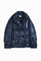 Maison Martin Margiela Men S Show Quilted Peacoat Boutique1 Navy