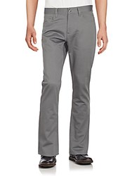 Perry Ellis Five Pocket Cotton Pants Castlerock