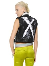 Haider Ackermann X Painted Nappa Leather Vest