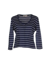 Just For You Knitwear Cardigans Women Blue