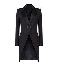 Alexander Mcqueen Evening Tuxedo Coat Female Black