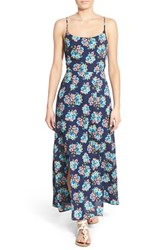 Women's Painted Threads Floral Print Crossback Maxi Dress