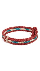 Chamula Hh Braided Bracelet Red