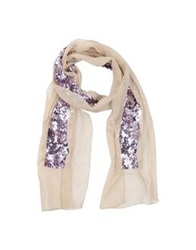 Schumacher Oblong Scarves Beige