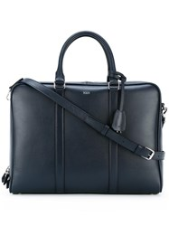 Tod's Briefcase Bag Blue