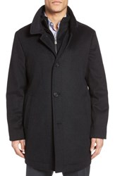 Hart Schaffner Marx Men's 'Macbeth' Car Coat With Bib