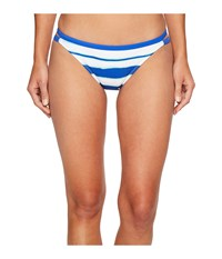 Nautica Morning Horizon Double Tab Side Pants Bottom Azure Women's Swimwear Blue