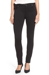 Vince Camuto Petite Women's Two By Skinny Ponte Pants Rich Black