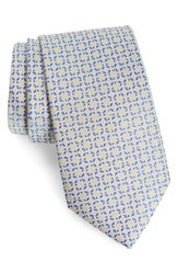 Southern Tide Savannah Butterfly Silk Tie Yellow