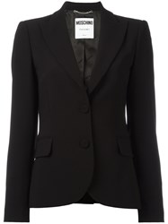 Moschino Two Button Blazer Black