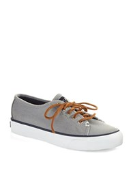 Sperry Seacoast Canvas Sneakers Gray