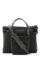 Mismo M S Soft Work Tote Black Black