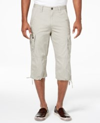 Inc International Concepts Men's Extra Long Messenger Shorts Created For Macy's Seashell