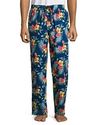 Tommy Bahama Floral Print Lounge Pants Navy Floral