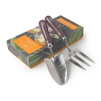 Burgon And Ball Rhs Passiflora Trowel Fork Set