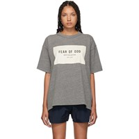 Fear Of God Grey Sixth Collection T Shirt