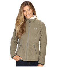 Mountain Hardwear Dual Fleece Jacket Stone Green Women's Coat