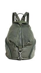 Rebecca Minkoff Julian Nylon Backpack Olive
