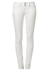 Ltb Molly Slim Fit Jeans White White Denim