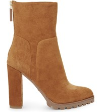Aldo Fresa Suede Ankle Boots Light Brown