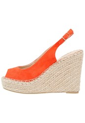 Dorothy Perkins Pia Platform Heels Orange