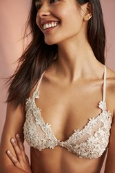 Anthropologie Flora Nikrooz Showstopper Bra Sand