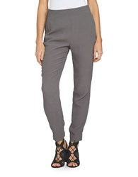 1.State At Leisure Flat Front Pants Grey