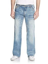 Affliction Cooper Straight Leg Jeans Blue