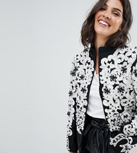 A Star Is Born Trophy Jacket With Statement Details Multi
