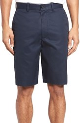 Nordstrom Men's Big And Tall Men's Shop Flat Front Supima Cotton Shorts Navy Eclipse