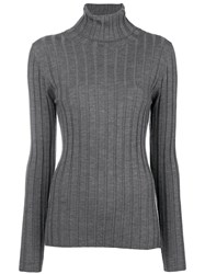 Aspesi Perfectly Fitted Sweater Grey