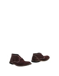 John Varvatos Ankle Boots Deep Purple