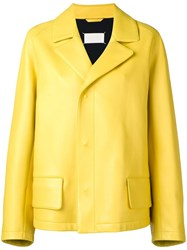 Maison Martin Margiela Classic Cut Jacket Yellow