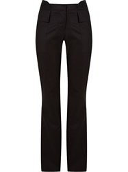 Giuliana Romanno Flared Trousers Black