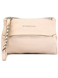 Givenchy 'Pandora' Clutch Nude And Neutrals