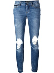 Dolce And Gabbana 'Pretty' Jeans Blue