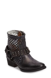 Very Volatile Women's Deluxe Laser Cut Strappy Bootie