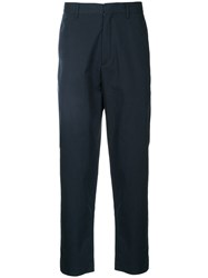 Covert Slim Fit Trousers Blue