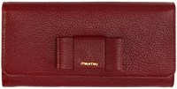 Miu Miu Red Bow Continental Wallet