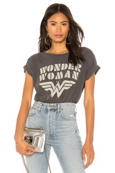 Junk Food Wonder Woman Tee Black