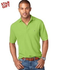 Tommy Hilfiger Classic Fit Ivy Polo Bright Lime Green