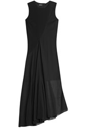 Dkny Asymmetric Dress Black