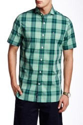 Victorinox Porter Short Sleeve Tailored Fit Shirt Green