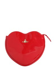 Vivienne Westwood Margate Heart Faux Patent Leather Clutch