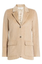 Paul And Joe Corduroy Blazer Beige