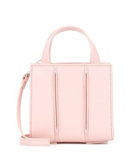 Max Mara Whitney Mini Leather Crossbody Bag Pink