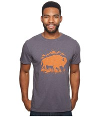 United By Blue Mountain Bison Charcoal Clothing Gray