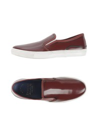 Doucal's Footwear Low Tops And Trainers Men Maroon